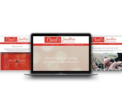 Charl's Jewellers | Website Design